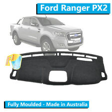 Ford Ranger PX2 with tech pack(2015 - Current) - Aftermarket Dash Mat - Charcoal