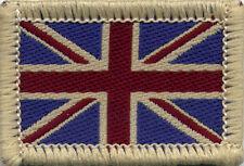 Union Jack UK British Flag Badge Patch Military 4x2.7cm