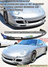GT3-Style Front Lip (Urethane) Fits 06-08 Porsche 997 911