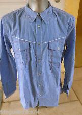 camisa de mujer azul marithé FRANÇOIS GIRBAUD T XXXL NUEVO CON ETIQUETA valor
