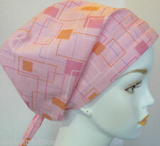 Chemo Cancer Hat Hair loss Scarves Turban Head Wrap Alopecia Pink Classic