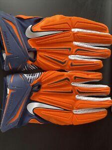 Nike NFL Superbad 3.0 XL Denver Broncos Football Gloves