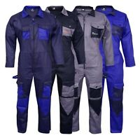 Men's Coveralls Boiler Suit Overalls For Warehouse Mechanics Work wears