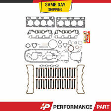 """Head Gasket Bolts Set 0.010"""" Thicker for 92-02 GMC Chevrolet DIESEL TURBO 6.5L"""