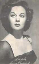 (542)  Vintage Photograph Actress Susan Hayward Signed
