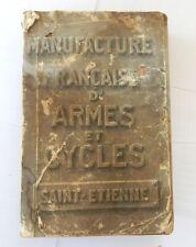 Catalogue Manufrance 1908 (?)