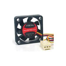 EverCool EC3007M05CA  5V 30mm X 30mm X 7mm Fan, 3Pin