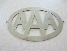 Vintage AAA car badge for Ford Chev Chrysler Dodge Buick Pontiac