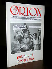 C104_Rivista mensile ORION di politica,cultura e informazione N.9 1994