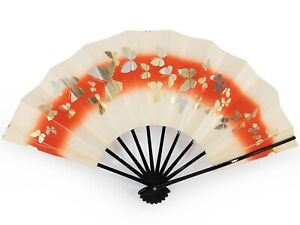 Vintage Japanese Geisha Odori 'Maiogi' FoldingDanceFan Original Box: Sep19-A
