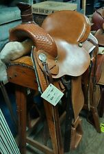 Dakota Steele Equi-Fit 16 inch Leather Western/ Roping Saddle model 511 New