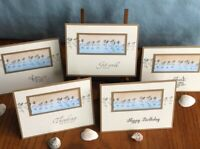 Stampin Up Assorted Cards Sandpipers Beach Birthday Thank You Thinking Of You