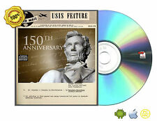 Abraham Lincoln 150th anniversary Oct 1958 eBook CDROM