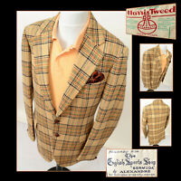 HARRIS TWEED MENS JACKET BLAZER 42L THE ENGLISH SPORTS SHOP BERMUDA RARE VINTAGE