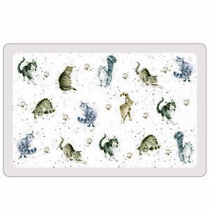 Flexible Tischset Pimpernel Wrendale Cats Set/4 Stück 28,5x43,5cm Placemats