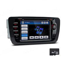 Autoradio 7 Zoll Touchscreen GPS Navigation Bluetooth DVD SD USB für SEAT IBIZA