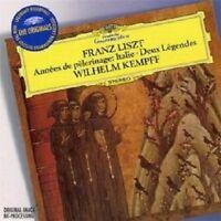 WILHELM KEMPFF - ANNEES DE PELERINAGE/DEUX LEGENDES  CD NEW!
