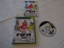 FIFA Soccer 2004 (Microsoft Xbox  2003) 2004 04 EA sports game everyone teams