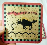 Bison Brewing Co Berkeley California Bar Coaster Beer lot 3  Free Shipping USA