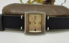 USED VINTAGE FAVRE-LEUBA GENEVE SEARAIDER 36000 DAYDATE AUTOMATIC MAN'S WATCH