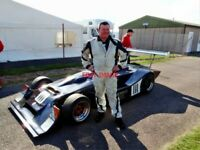 PHOTO  THRUXTON REVIVAL 19.4.14  MARK CHARTERIS  CLUBMANS MALLOCK MK20/21 WHICH