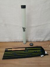 Brand New Custom 6wt - 5 Piece 476 Packlight Fastglass II Fly Rod - Olive