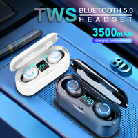 Bluetooth 5.0 Headset TWS Wireless Earphones Mini Earbuds Stereo Headphone IPX7
