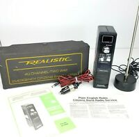 Realistic TRC-412 Emergency CB Radio 40 Channel Mobile Portable Transceiver