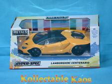 1:24 Jada - Hyper-Spec 2017 Lamborghini Centenario - Yellow