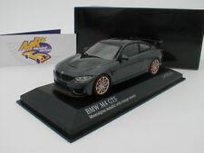 """Minichamps 410025228 - BMW M4 GTS Bj. 2016 """" Mineralgrau-metallic """" 1:43 NEU !!"""