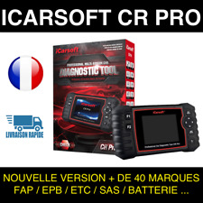 Valise Diagnostique Multimarque Auto En Français Obd avec Ecran ICARSOFT CR PRO