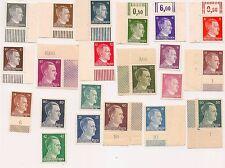 German WW2 Nazi Adolf Hitler stamps(#21)-MNH,1941-1944,3rd Reich Germany postage