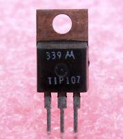 Mototola TIP107 NPN Epitaxial Darlington Transistor - Lot of 5