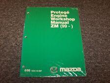 1999 Mazda Protege Sedan Workshop Shop Service Repair Manual DX ES LX 1.6L 1.8L