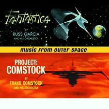 Russell Garcia - Frank Comstock Music From Outer Space Fantastica + Project Coms