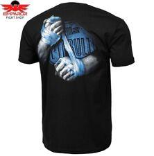 Pit bull West Coast t-shirt vale tudo negro señores Crime terror S M L XL