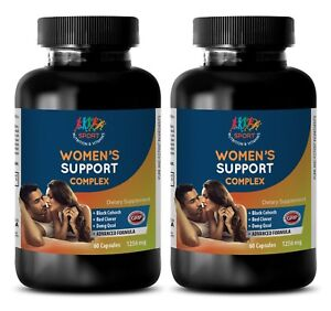sage for womens health - WOMEN'S SUPPORT COMPLEX 1256mg - soothe cramping 2B