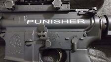2 - AR15 Upper Decal | Punisher AR-15 Sticker 2 Pack