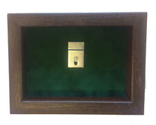 Small Green Army Miniatures Medal Display Case