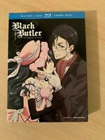 Black Butler: The Complete First Season (Blu-ray/DVD, 7-Disc Set) (Out of Print)
