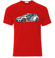 VW POLO R WRC RALLY  GTI R32 Fan T Shirt  T-SHIRT
