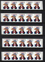 1998 Uncle Sam Sc 3263 MNH plate number 1111 lot of 5