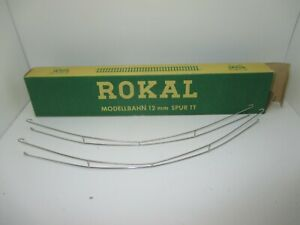 Rokal Scala Tt: Fahrleitungsdraht-Packung Con 2 Pezzo, Curvo (OK6)