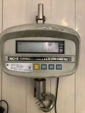 CAS NC-1 crane scale capacity 1000lbs x .5lbs