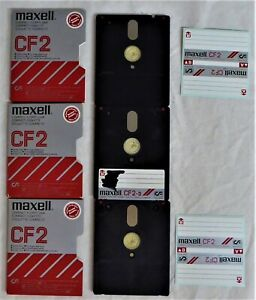 3 Maxwell CF2 3 Inch Blank Discs For Sinclair ZX Spectrum OR Amstrad CPC / PCW