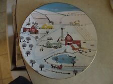 Royal Doulton Sleigh Bells collector plate 1 available
