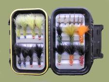 Coffret de pêche Mouches, 20 Hothead Lure & nymphe, mixte, taille pour pêche à la mouche
