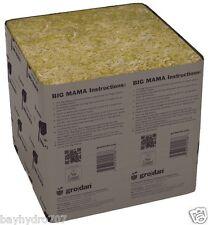 1pc Grodan Big Mama 8 x 8 x 8 Sold Per Block / Cube SAVE $$ W/ BAY HYDRO $$
