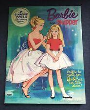 Vintage 1964 Barbie & Skipper Paper Dolls Whitman