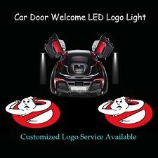 2pcs Ghost Busters Logo Shadow Spotlight Car Door Laser Projector CREE LED Light